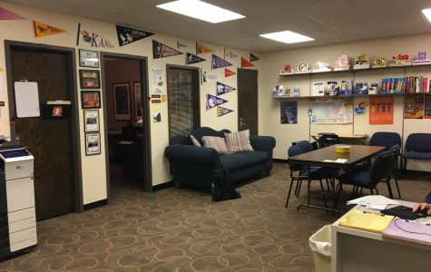 The counselors' offices are room 310. Throughout both semesters, students can be found meeting with their specified counselor.