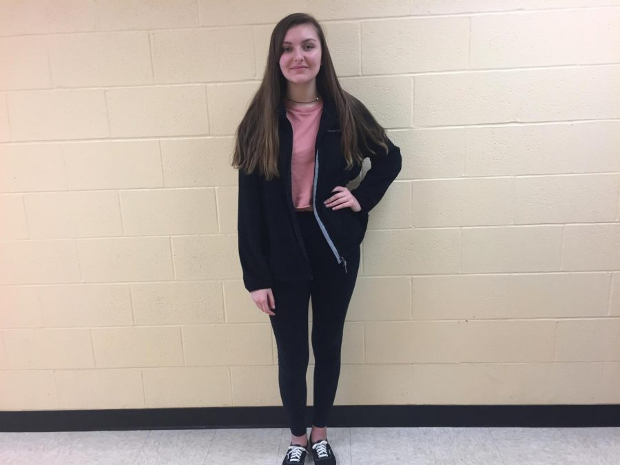 Tarryn Morton (10) was chosen as The Spotlight student for the week of Jan. 8.