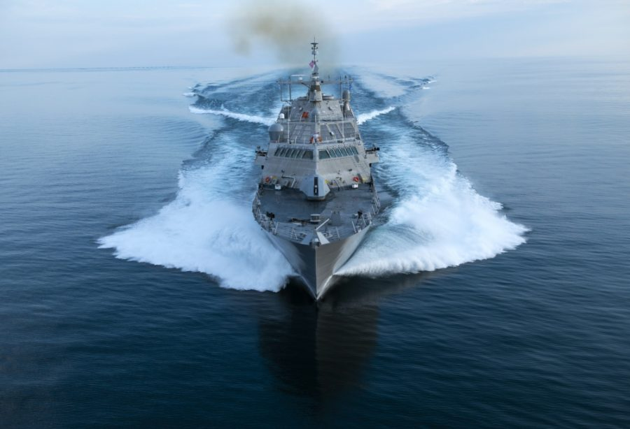 The USS Wichita (LCS-13) is a littoral combat ship. LCS's are used in littoral (shallow) waters and are mainly used for targeting smaller surface vessels.