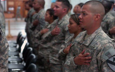 Honoring America through song, pledge