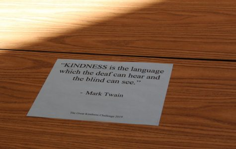 School provides outlets for kindness amongst peers