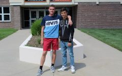 School welcomes 2 foreign exchange students from Europe