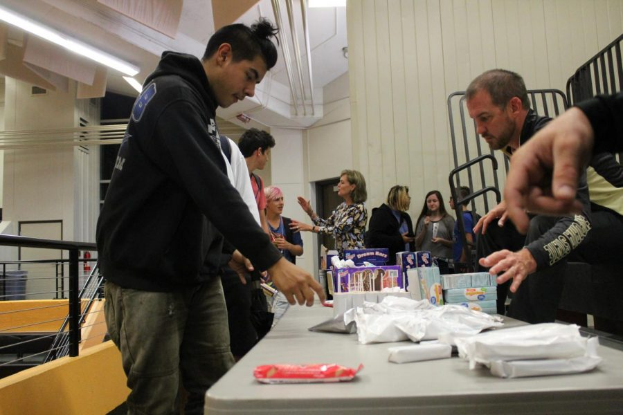 On October 9th the no tardy party took place as students got their choice of ice cream.