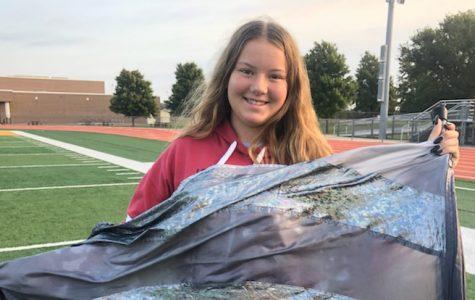 Freshman Elisa Stubby