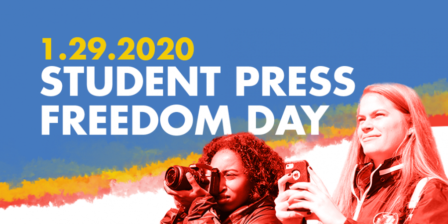 The Student Press Law Center posted pictures they made for journalists to post on social media. They included Twitter headers, Instagram pictures, and Facebook cover photos.