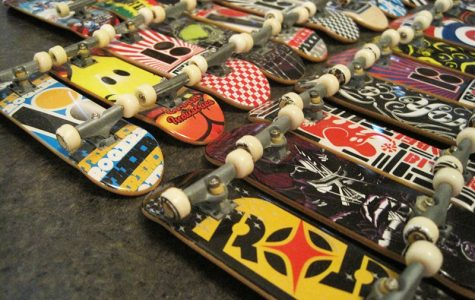 The Tech Deck brand started in 1998, but the original fingerboard did not come out till 1999. A fingerboard is a replica of a skateboard that someone rides by making skateboard tricks with their fingers.