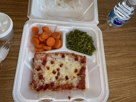 School lunches have taken a wild change this year. They are being delivered in to-go boxes and students are only given one hot lunch option and one cold lunch option.