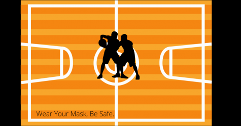 A little reminder to make sure we are wearing our masks while attending social events to keep ourselves, and people around our community safe. Especially during events such as basketball games because of the heavy breathing from physical activity and cheerleaders yelling.
