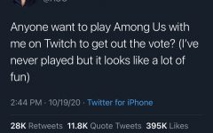 AOC teases her arrival on the popular streaming website Twitch via Twitter. AOC streamed live Oct. 21, but has continued to stream to raise voter awareness and raise money for different non-profits. Ocasio-Cortez recently raised $200k for COVID-19.