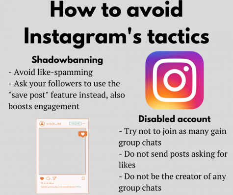 Instagram policies hurt small businesses