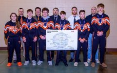 "Six wrestlers placed at the 2021 state tournament in Salina Feb. 27. The wrestlers worked to qualify and place at state since November when the season started. They worked out in the weight room, drilled and ate healthily. ""We build up to the middle and then we try to increase our intensity to peak at the end,"" wrestling coach Brandon Terry said. ""We cut down our workload towards the end of the year and try to increase our intensity, and hopefully, we peak at the state tournament series."""