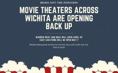 Many theaters around Kansas will be opening back in the next two months. They will be playing older and new movies for their guests to enjoy.
