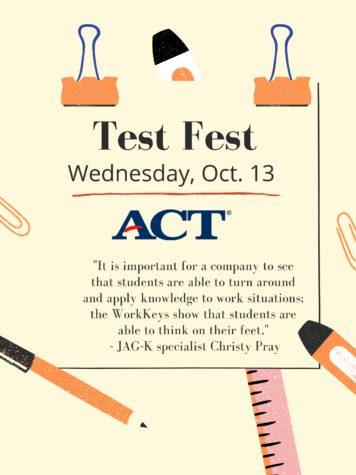 Test Fest replaces regular assessment days